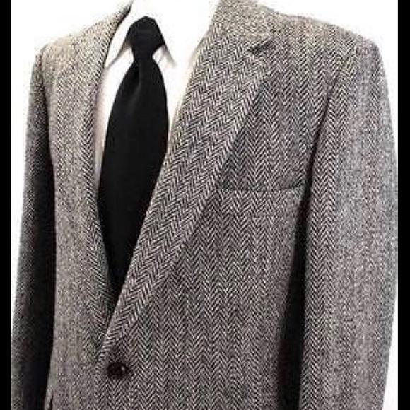 Deansgate Other - Deansgate Men's Sports jacket 42L Herringbone B&W